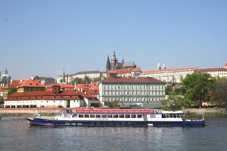Panoramic Vltava River Cruise